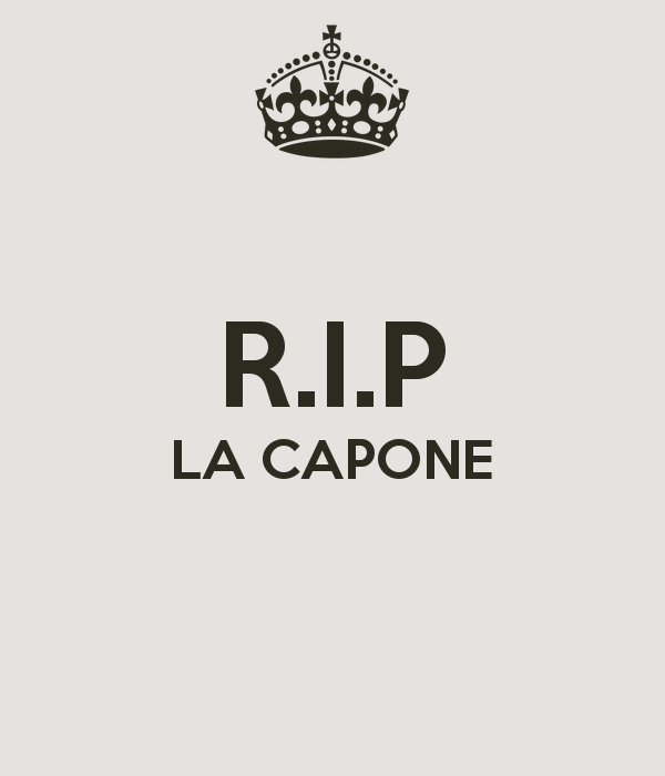 LA CAPONE - KEEP CALM AND CARRY ON Image Generator