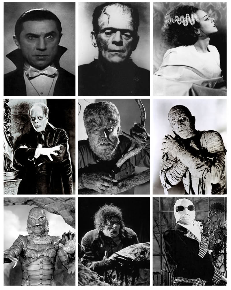 The gods of Monster Mt Olympus the classic Universal Monsters 800x1006