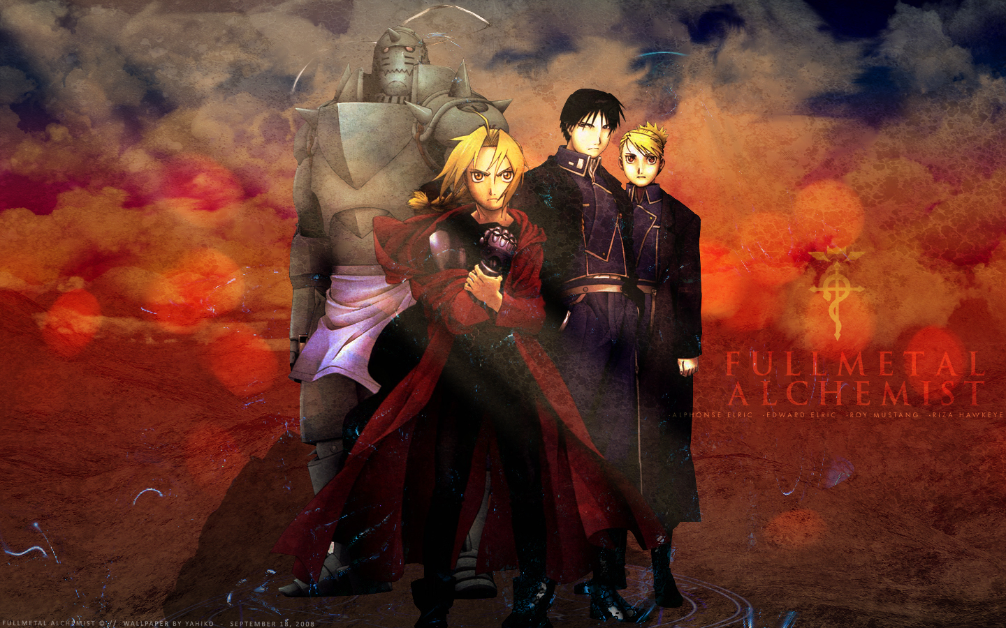 Fullmetal Alchemist Brotherhood Wallpaper HD 1440x900
