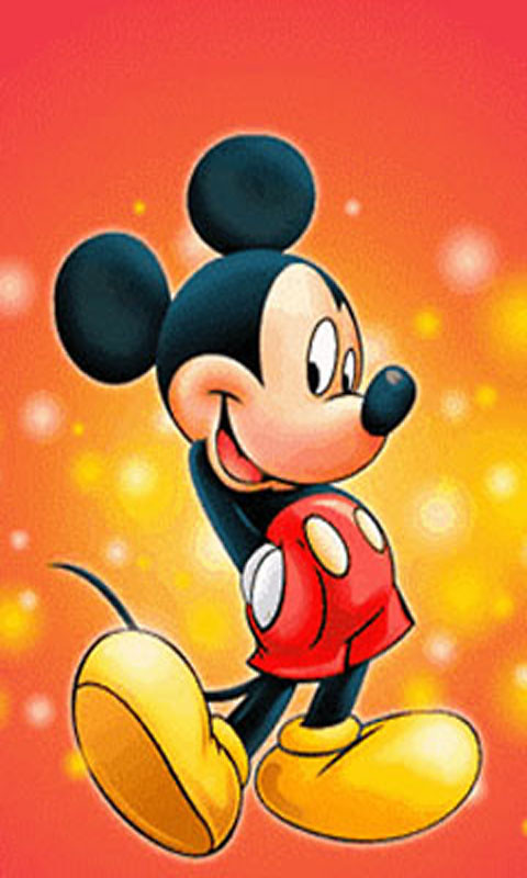 Mickey mouse phone wallpaper wallpapersafari - Disney tablet wallpaper ...