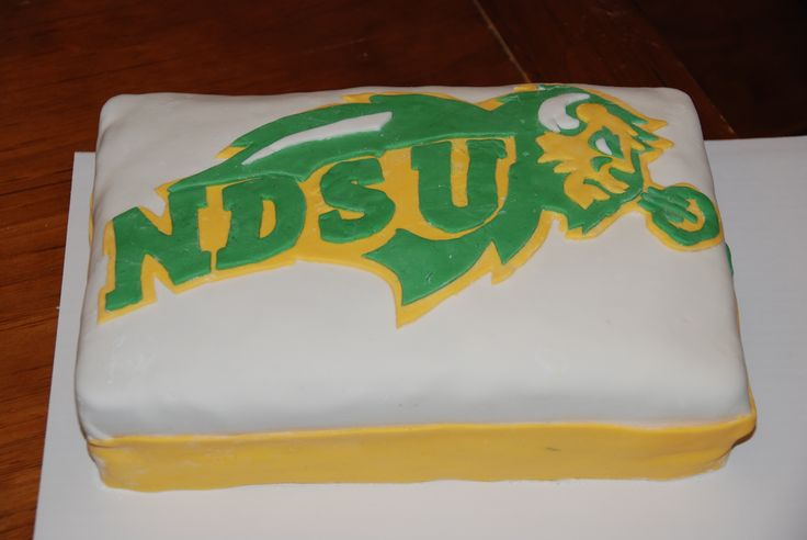 Ndsu Bison Wallpaper Ndsu bison birthday cake 736x492