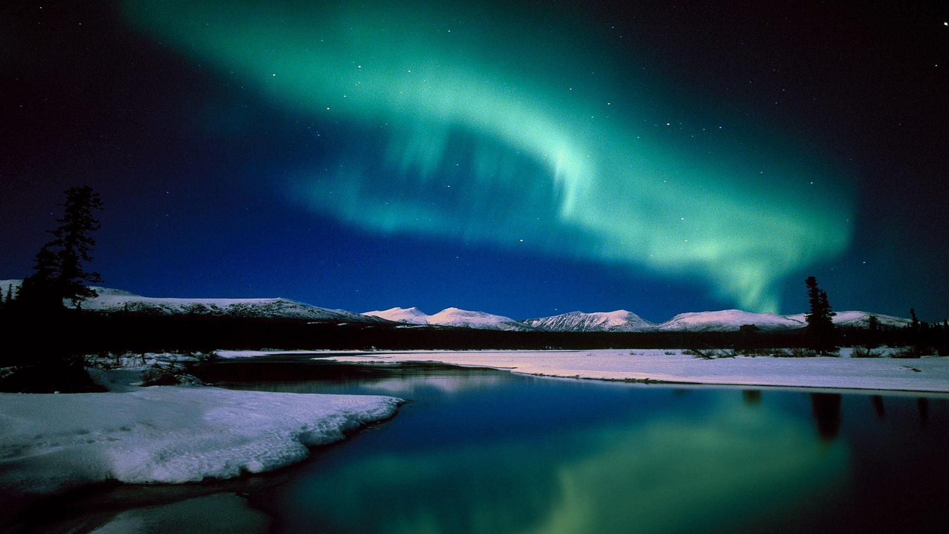 Aurora Borealis Desktop Wallpaper Wallpapersafari