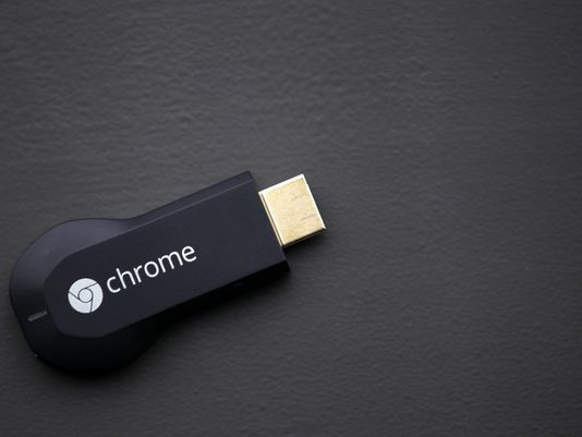 Googles Chromecast works wirelessly to stream video and music to a 534x401