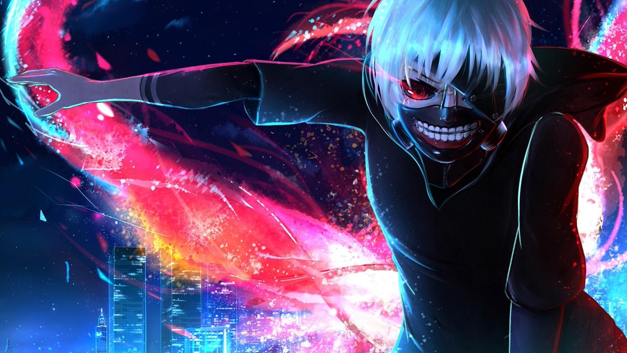 Tokyo Ghoul Horror Anime Kaneki HD Wallpaper 1280x720
