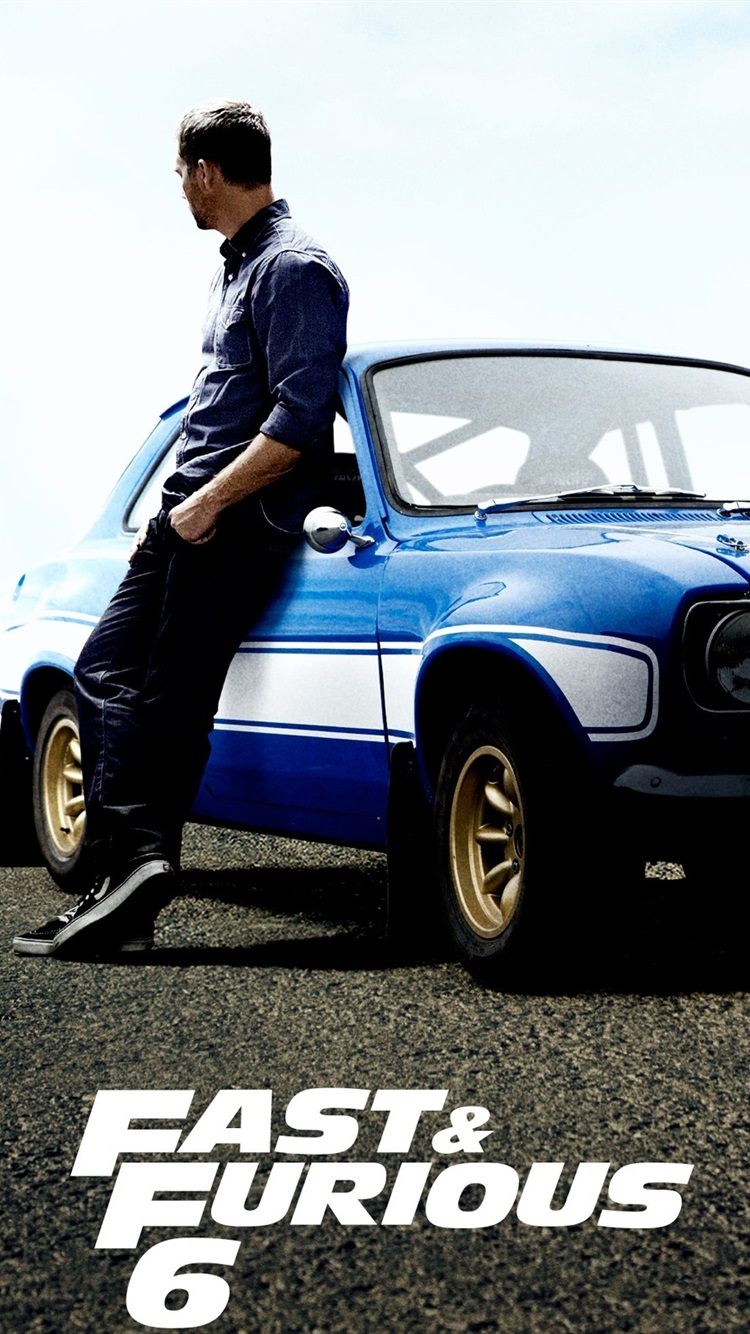 Free Download Wallpaper Paul Walker In Fast And Furious 6