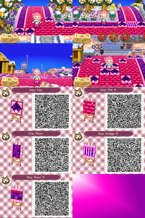 Animal Crossing New Leaf Christmas Paths Qr Codes Best Wallpapers