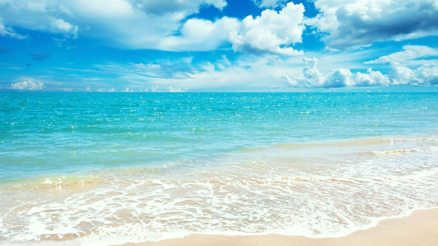 Sunny Day At The Beach Wallpaper wwwgalleryhipcom 1440x810