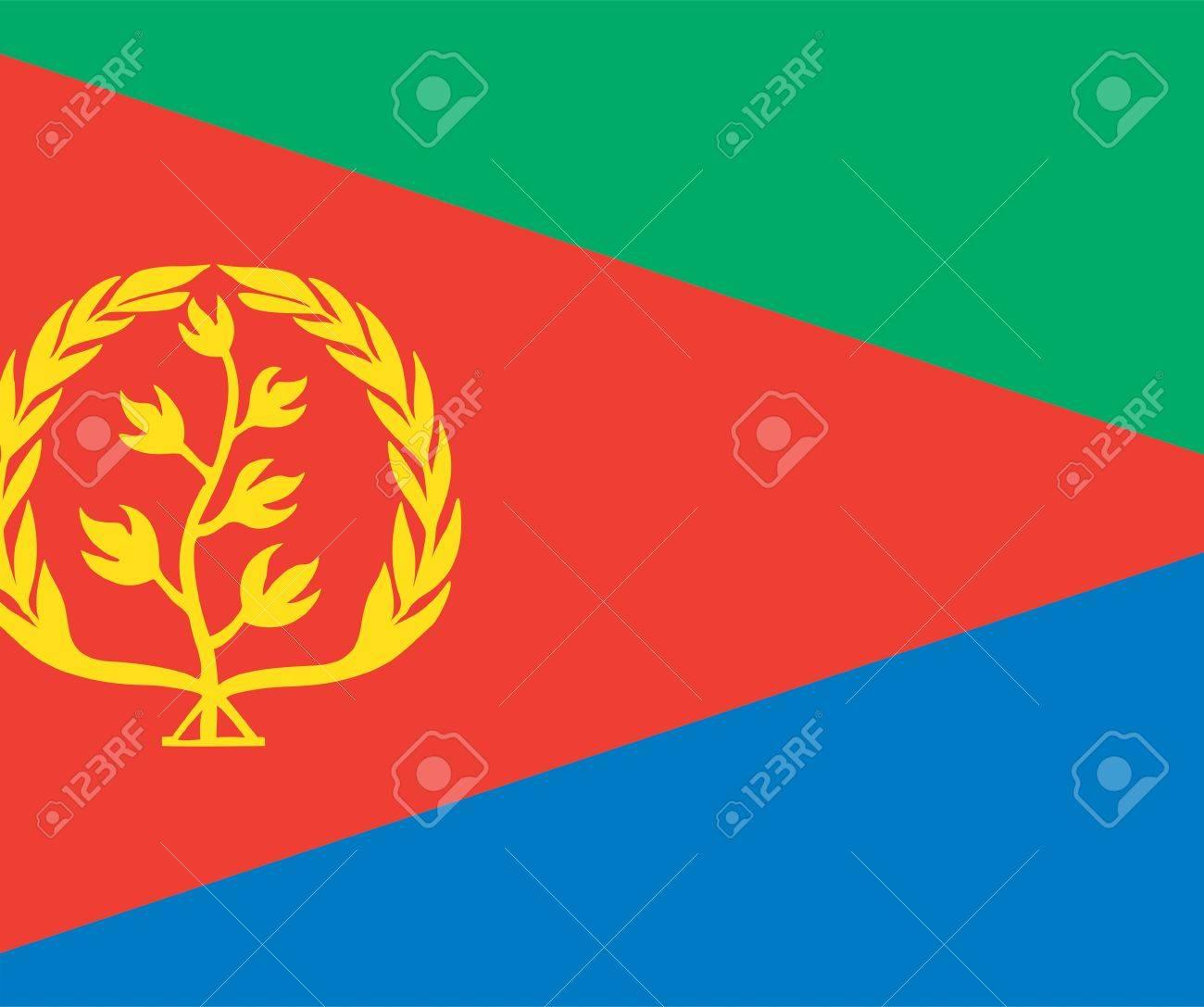 National Flag Of Eritrea Country World Eritrea Background 1300x1087