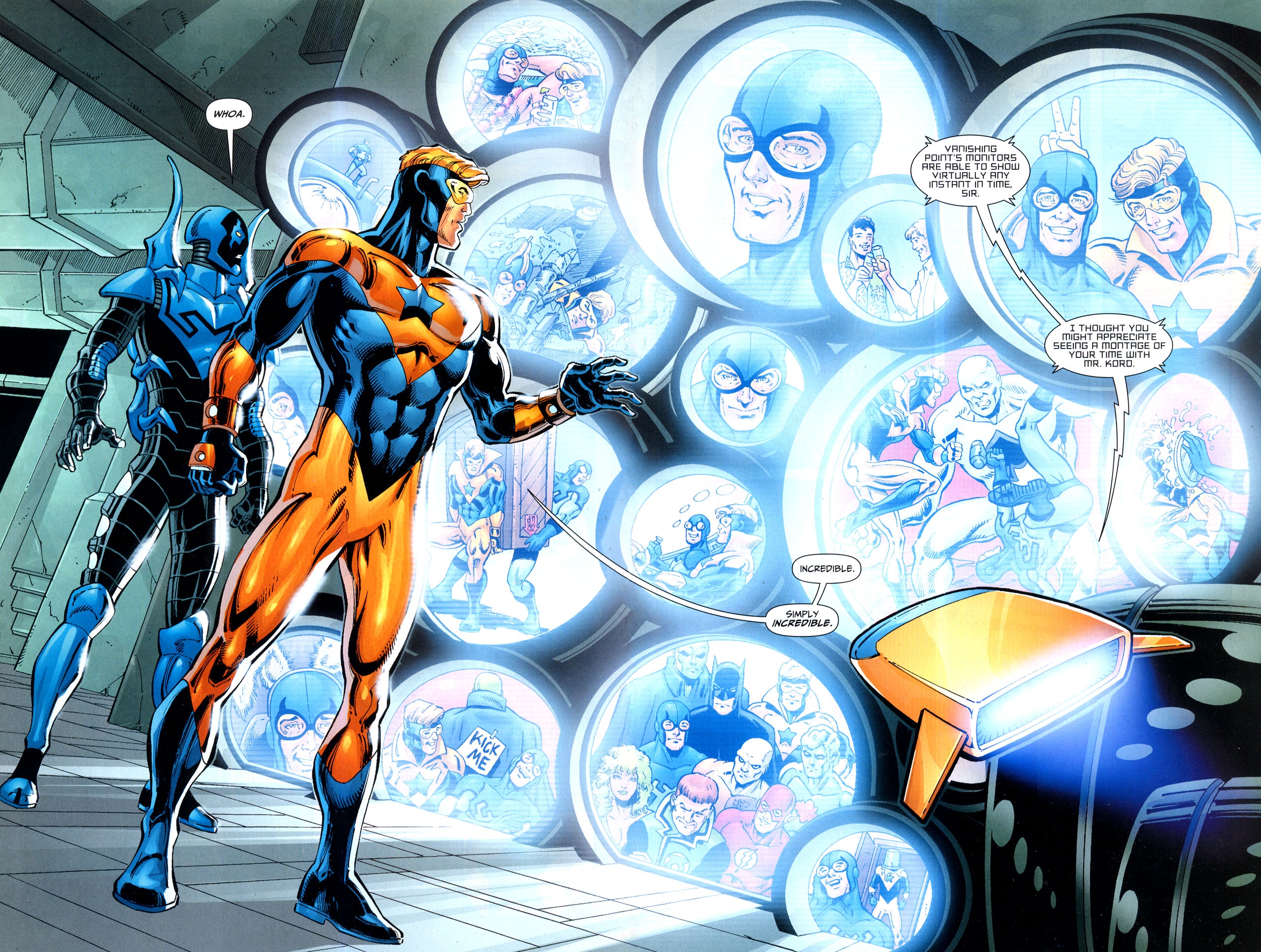 Booster Gold HD Wallpaper Background Image 2560x1934 ID 2560x1934