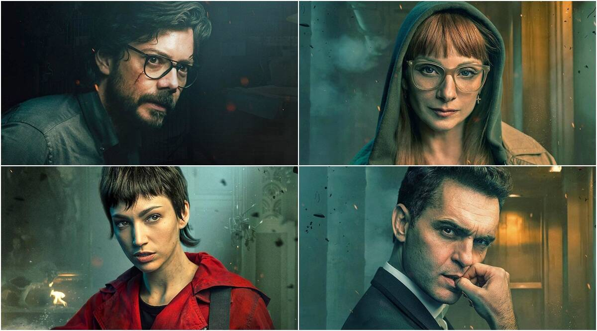 Money Heist 5 new posters depict emotions anger of every 1200x667