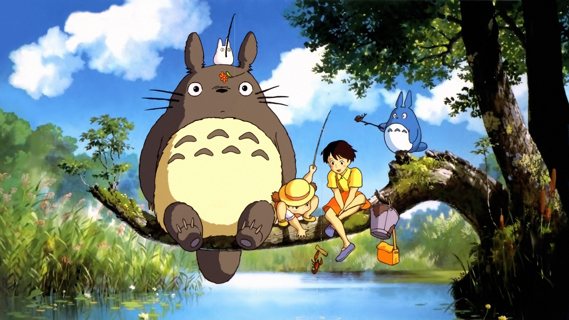 78 My Neighbor Totoro HD Wallpapers Background Images 1920x1080