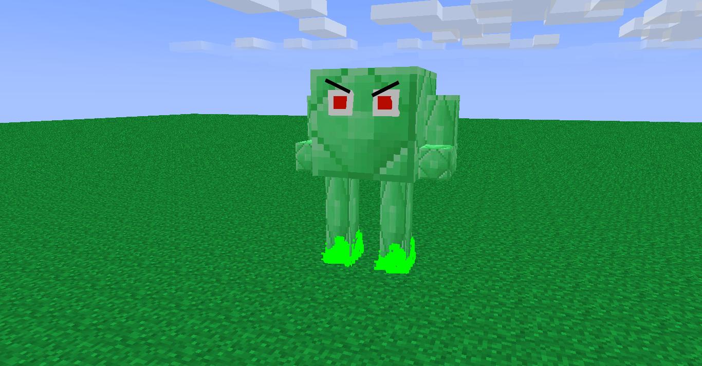 Minecraft Emerald Block  evil emerald block rig 1366x712