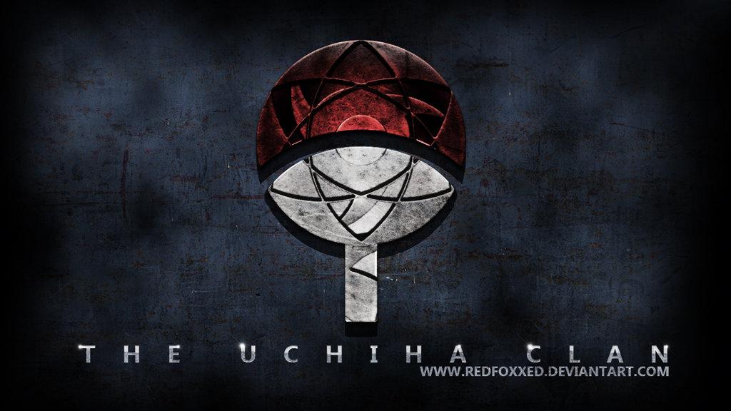 Uchiha Clan Symbol by redfoxxed 1024x576