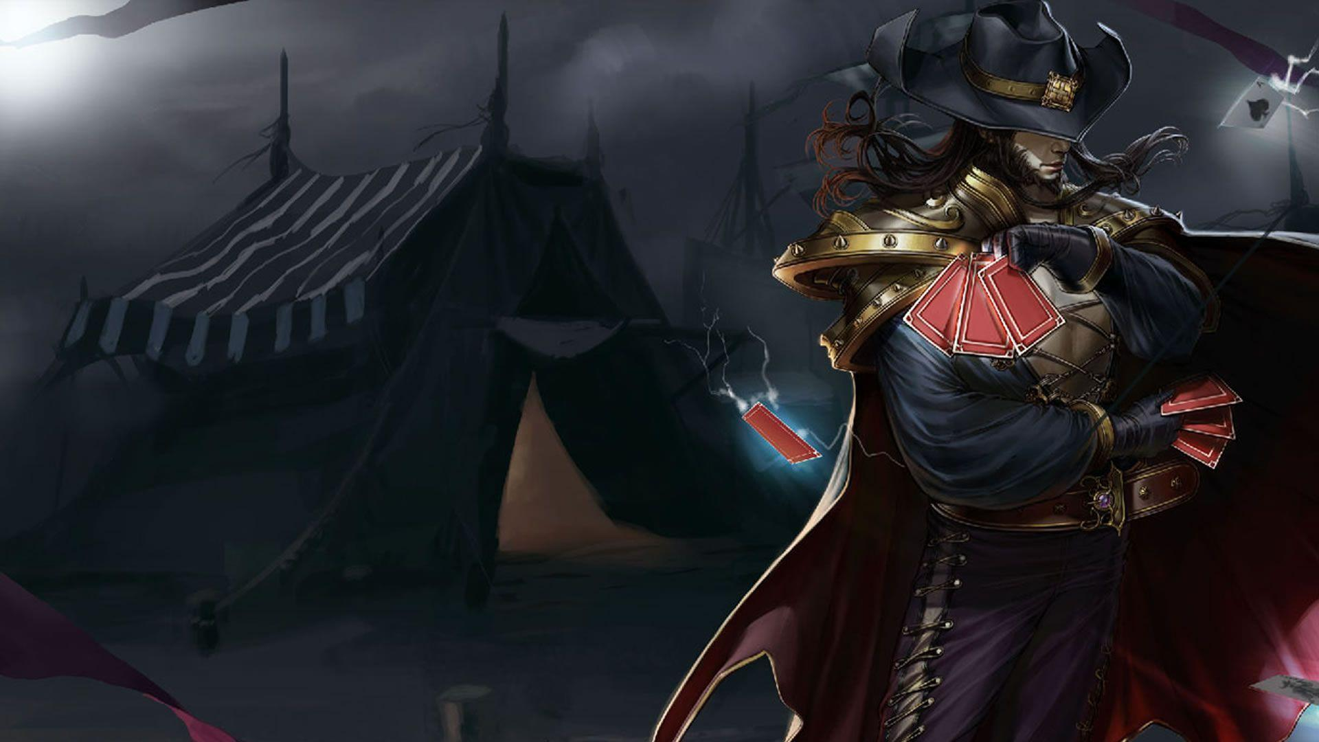 Twisted Fate Wallpapers 1920x1080