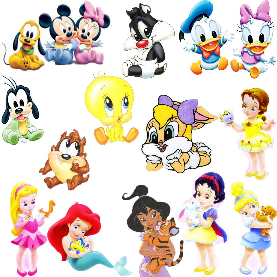 Baby Disney Cartoon Characters Wallpaper Baby Disney Characters 894x894