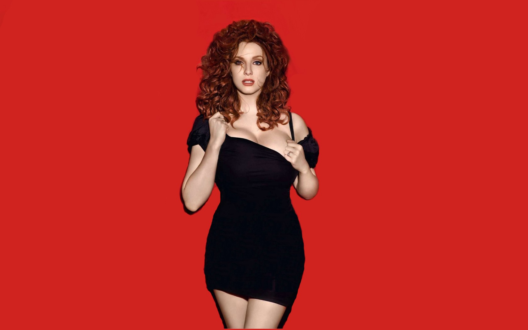 Christina Hendricks Wallpaper 1680x1050 Christina Hendricks 1680x1050