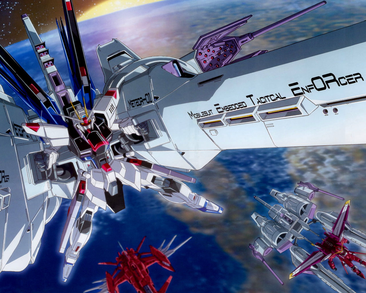 Gundam Seed wallpapers Gundam Seed background   Page 8 1280x1024