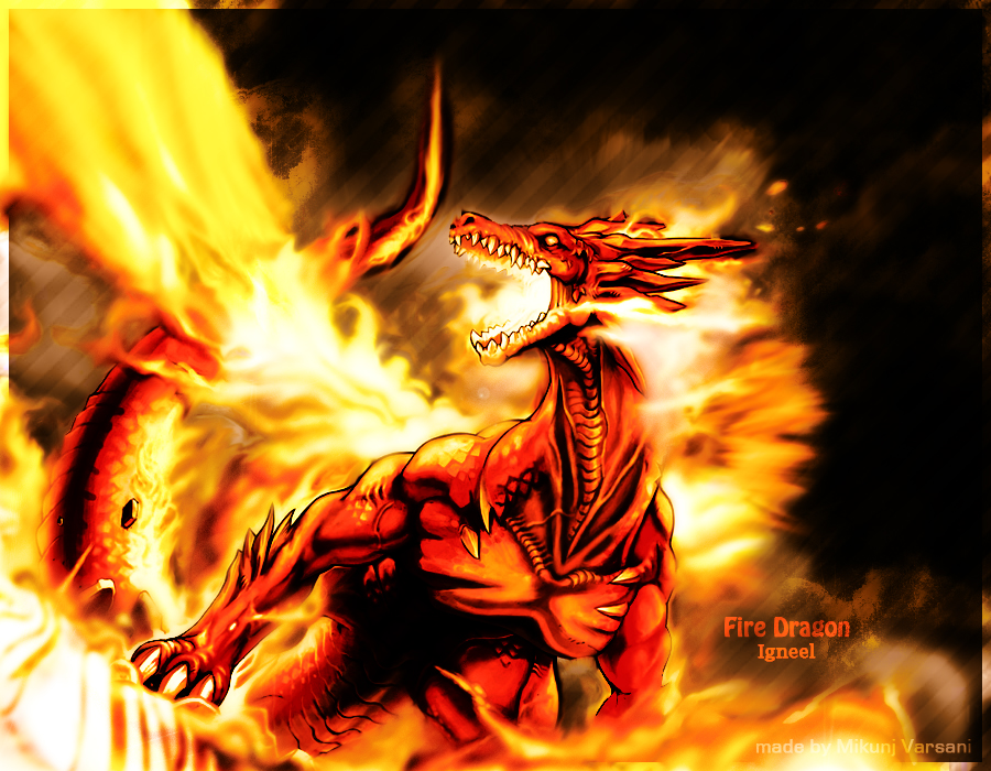 Igneel Wallpaper - WallpaperSafari
