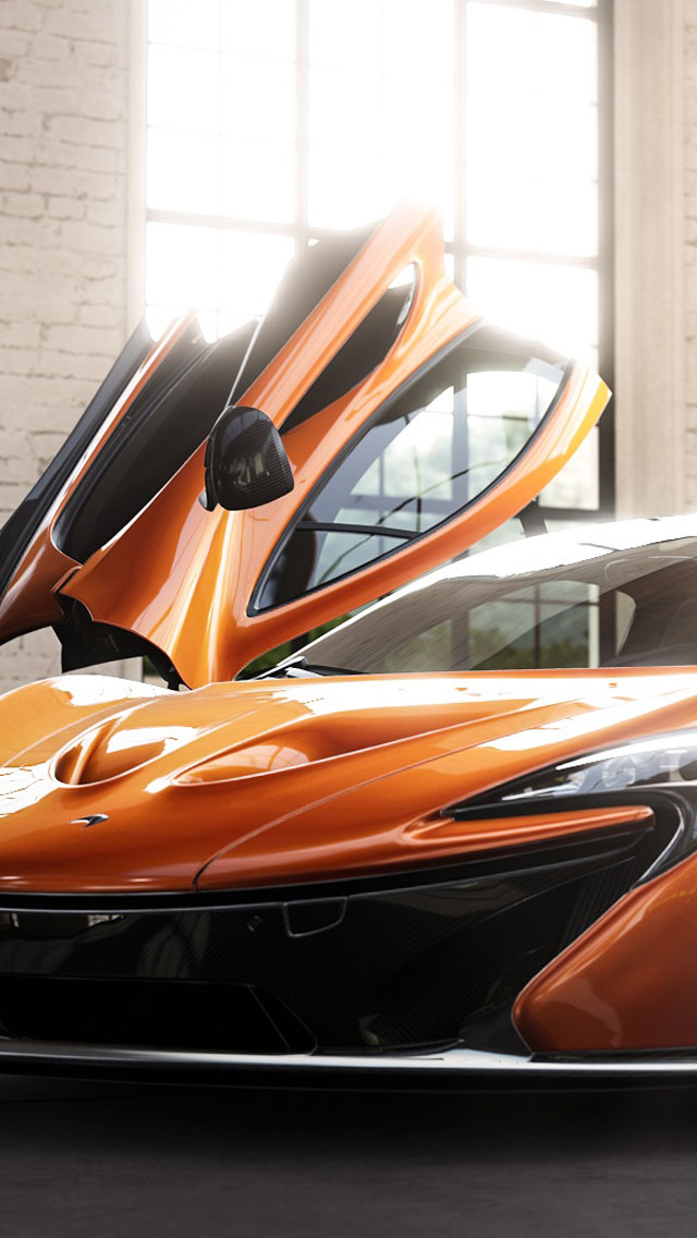 Forza 5 McLaren P1 iPhone 6 6 Plus and iPhone 54 Wallpapers 640x1136
