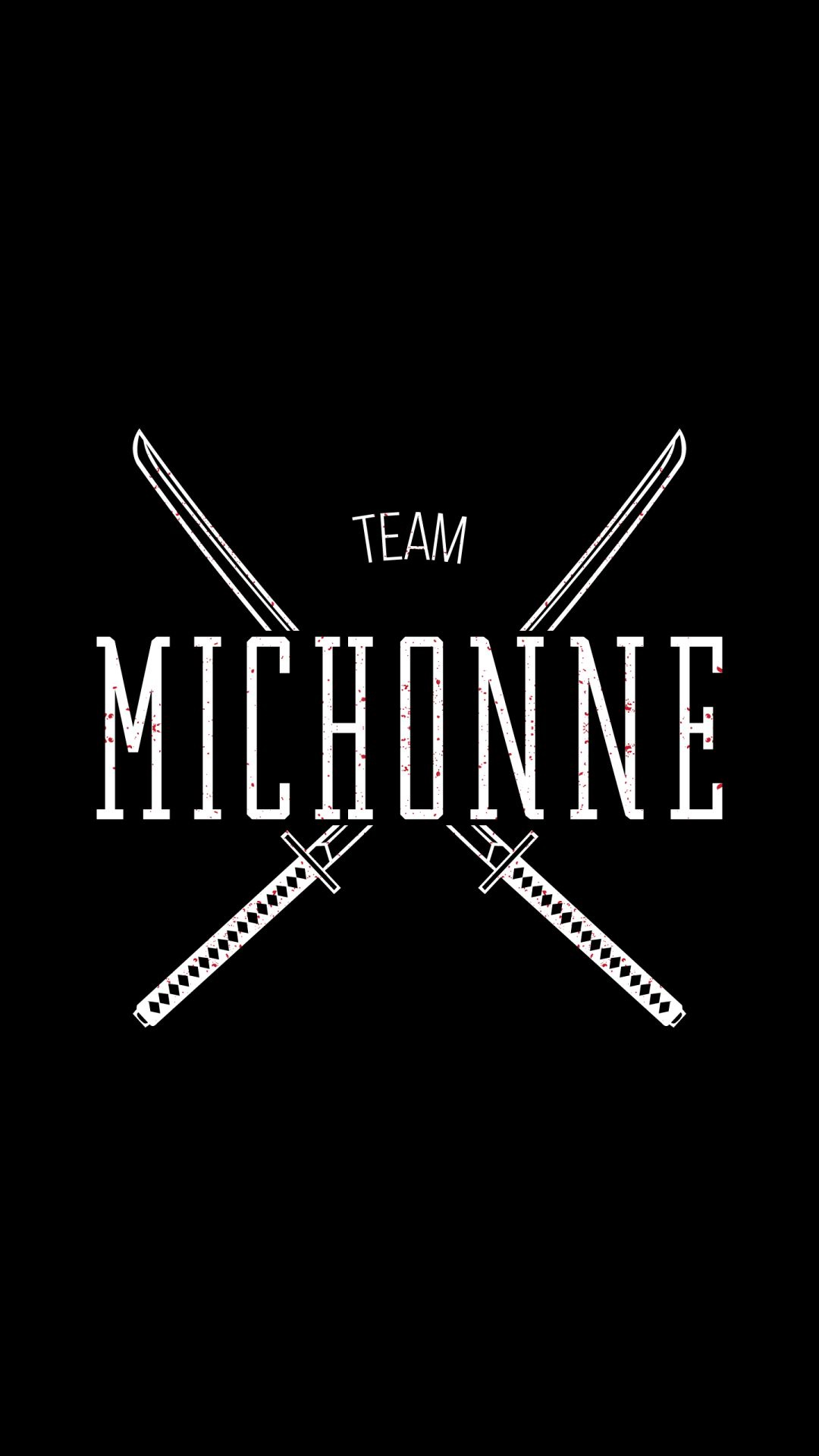 Free Download Team Michonne The Walking Dead Iphone 6 Hd Wallpaper