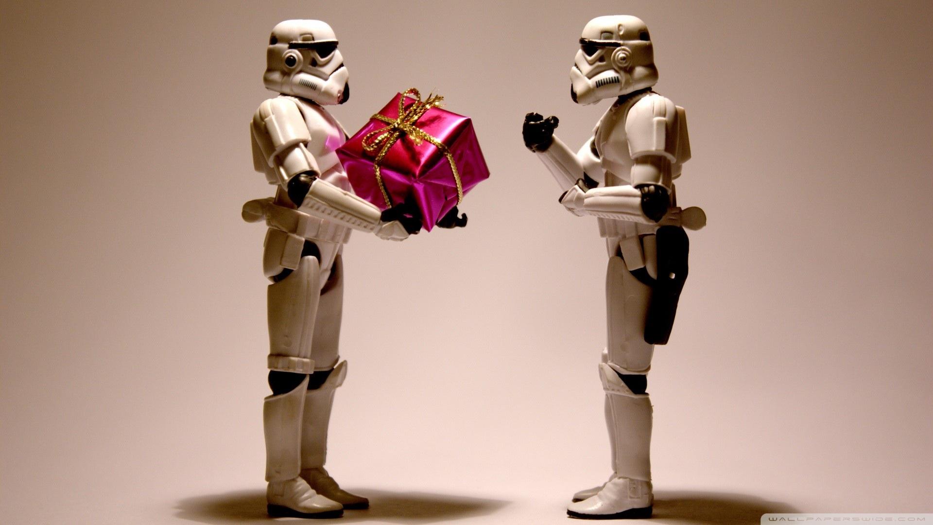 48 Star Wars Christmas Wallpaper On Wallpapersafari