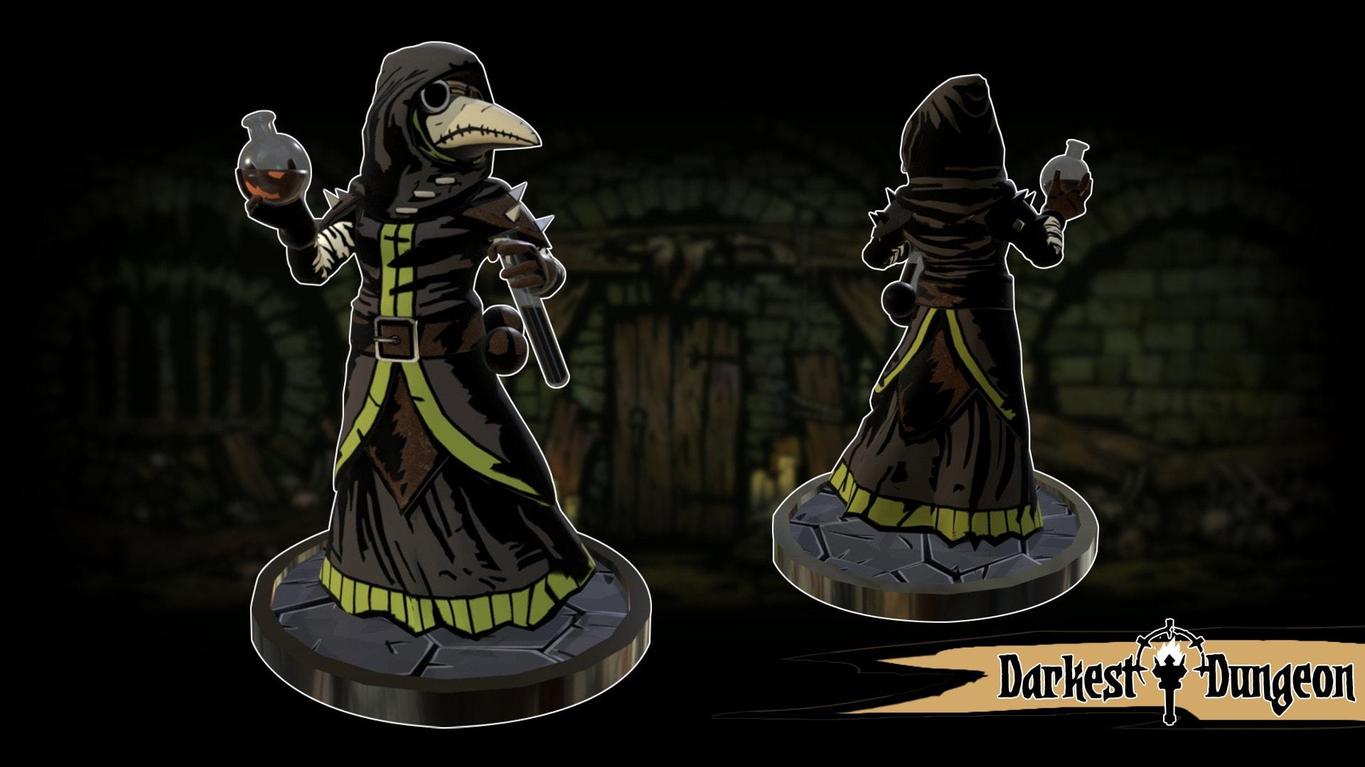 Darkest Dungeon Plague Doctor HD Desktop Wallpapers 1920x1080