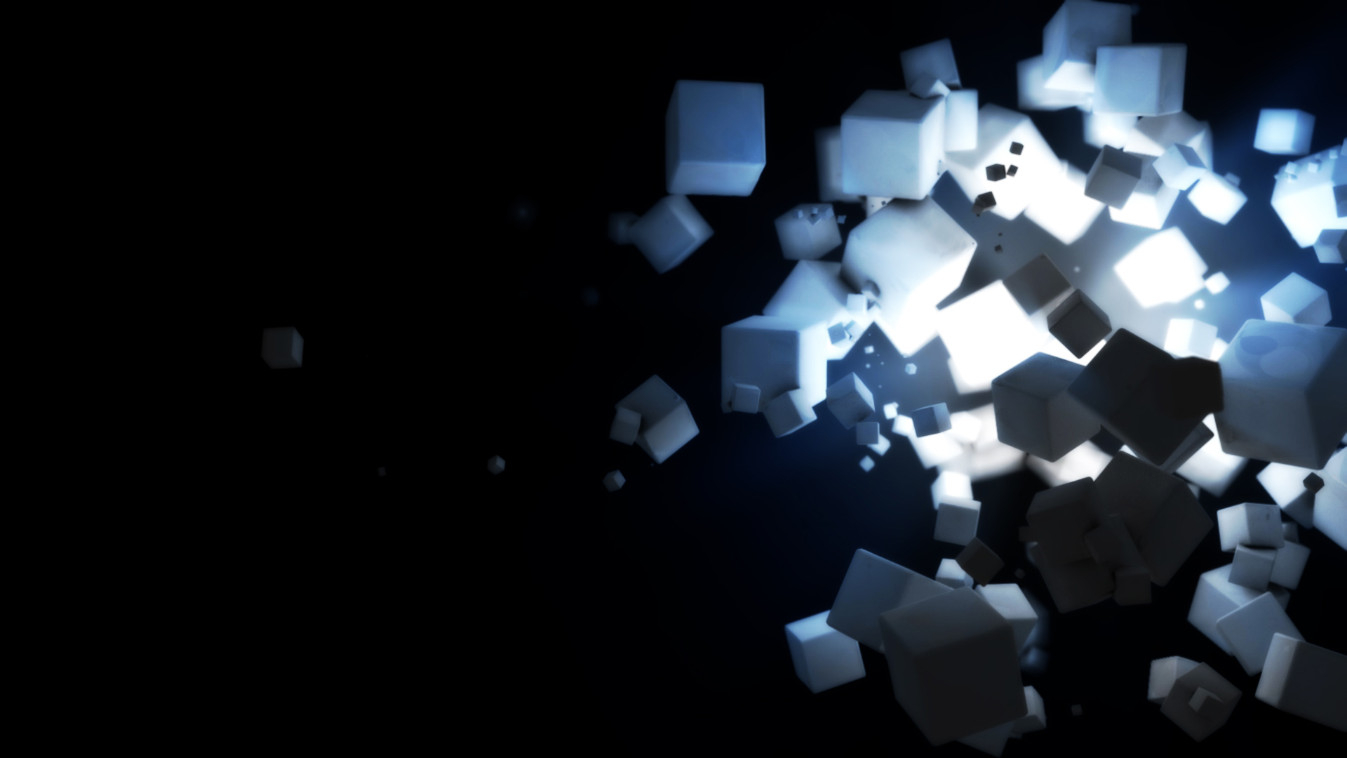 3D Cube wallpaper 16433 1920x1080