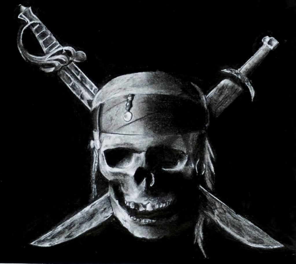 Skull and Crossbones Wallpaper photo Pirate by mo013 741289jpg 1024x914
