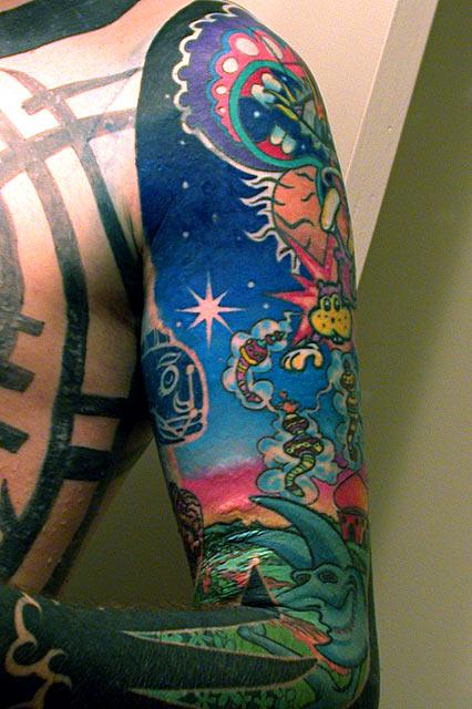 Cool Tattoo Backgrounds WallpaperSafari
