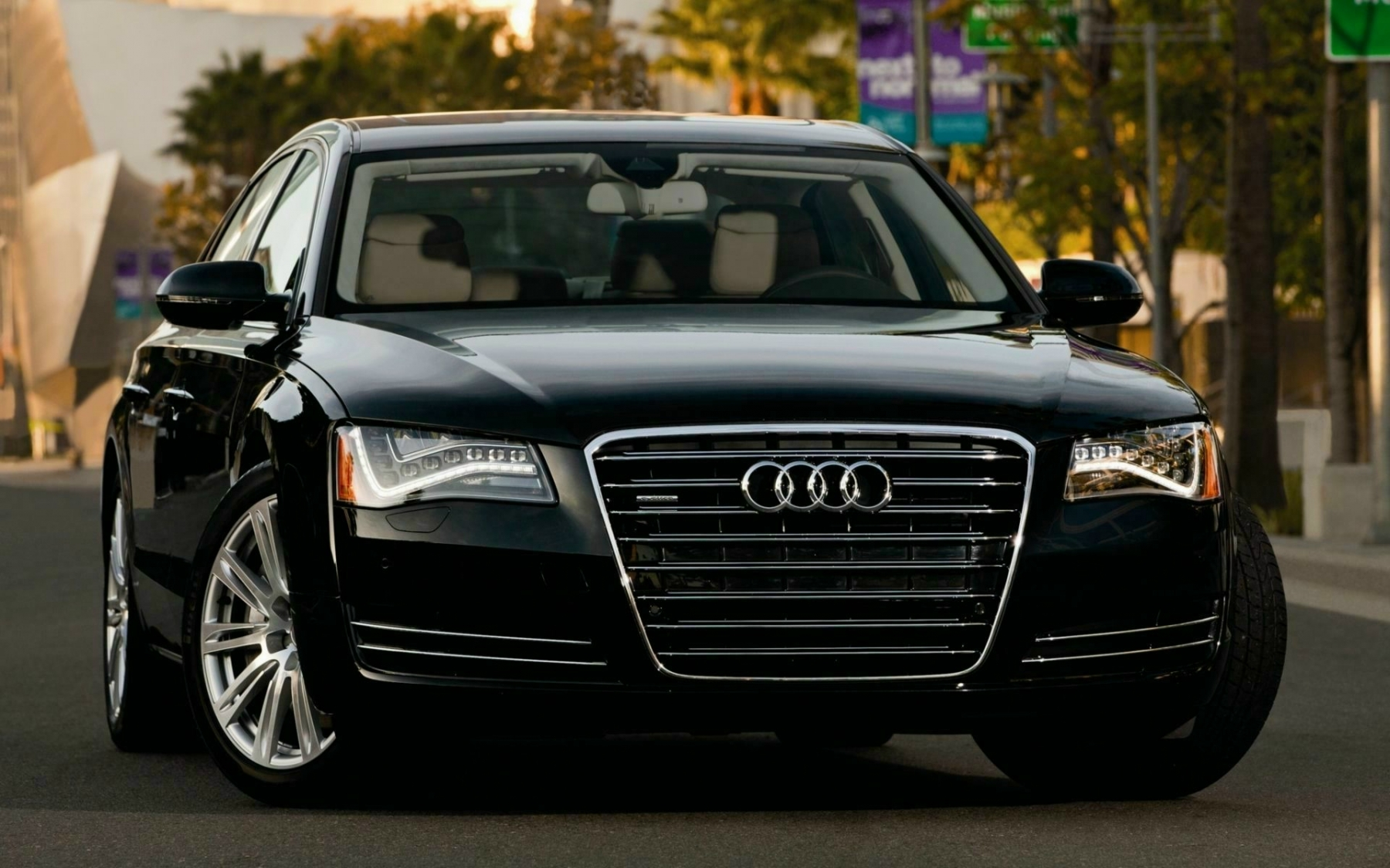 Audi A8 TFSI E HD Wallpapers Background Images Photos 1800x1125
