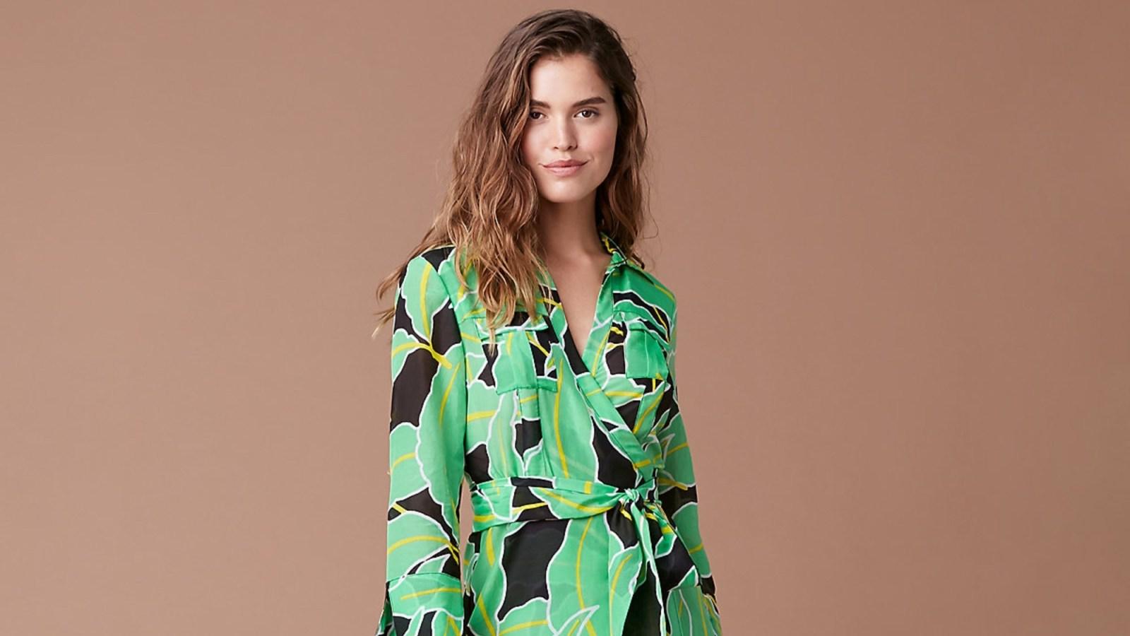 DVF Is Having a Major Sale on Wrap Dresses Shop Our 5 Favorites 1600x900