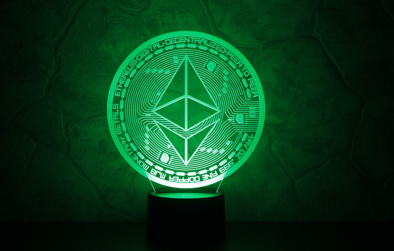 Wallpaper green the air cryptocurrency eth ethereum images for 1332x850