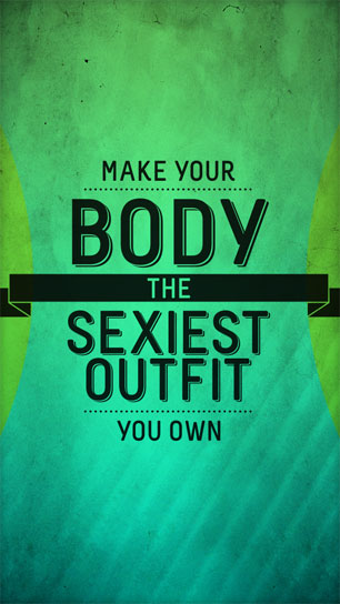 Empowering Fitness Wallpapers for Your Smartphone 306x544