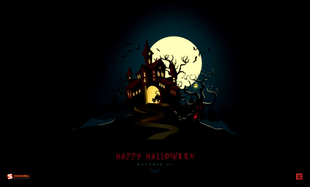 Halloween Desktop Wallpaper Wallpapers Collection 1203x728
