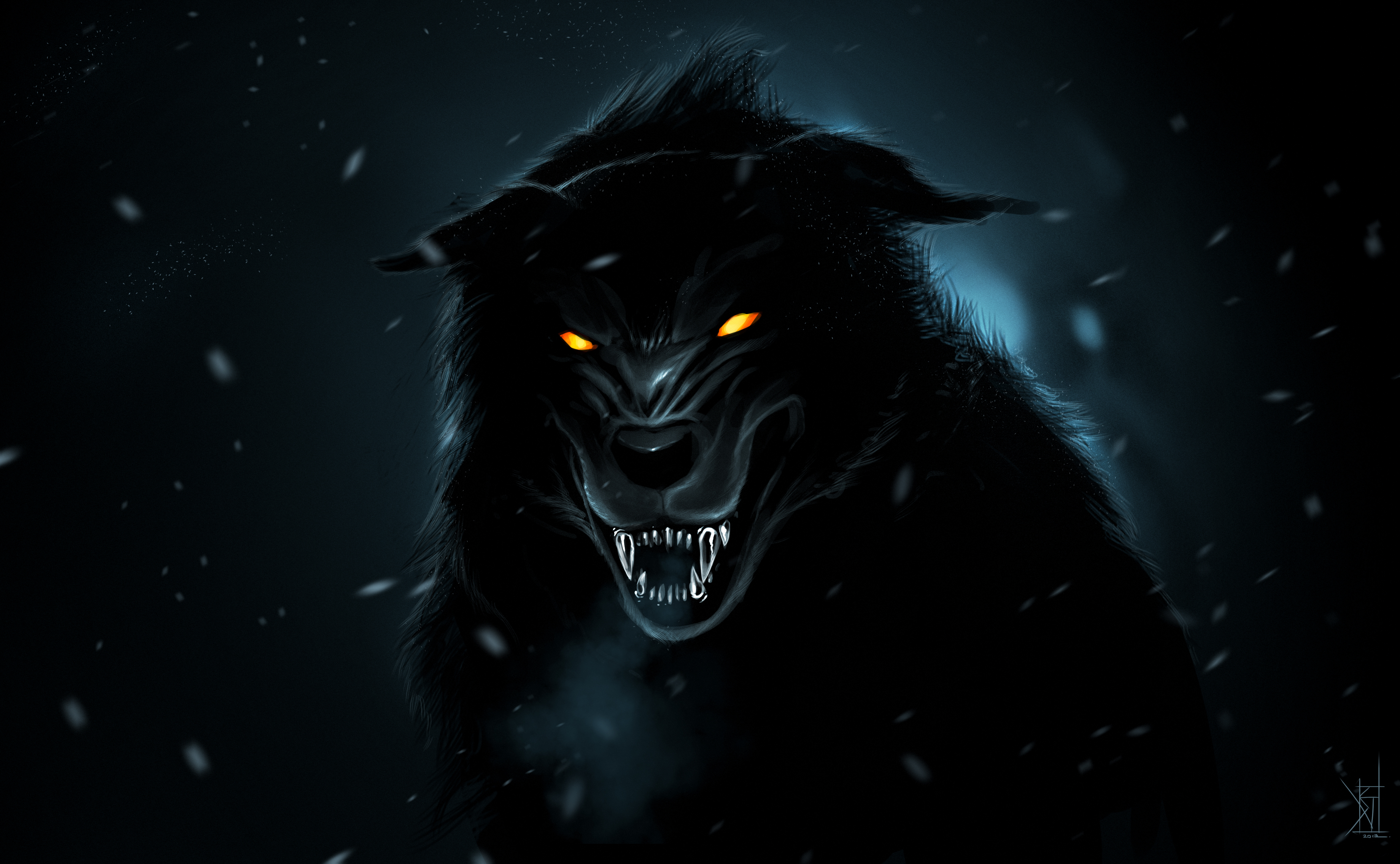 [73+] Dark Wolf Wallpaper on WallpaperSafari