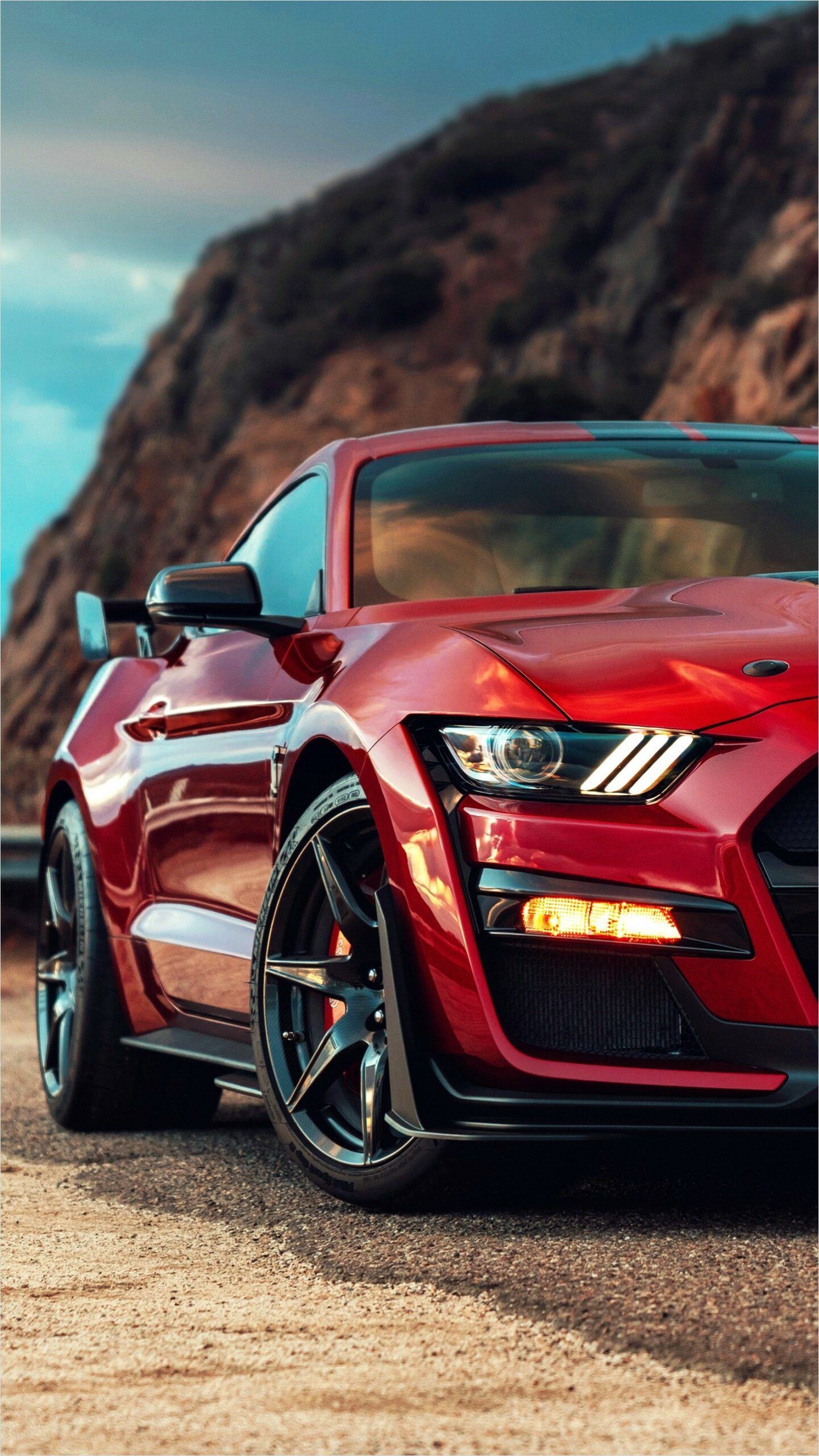 2020 Mustang Gt500 Wallpaper 4k in 2020 Ford mustang shelby 1441x2560
