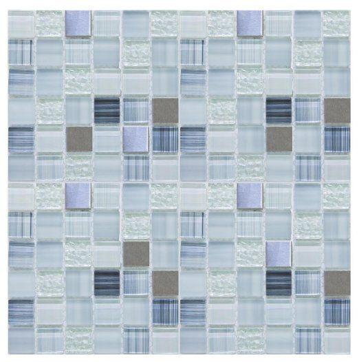 Peel Stick Tiles 15 Ft Backsplash Kit Blue Moon   Amazoncom 522x526