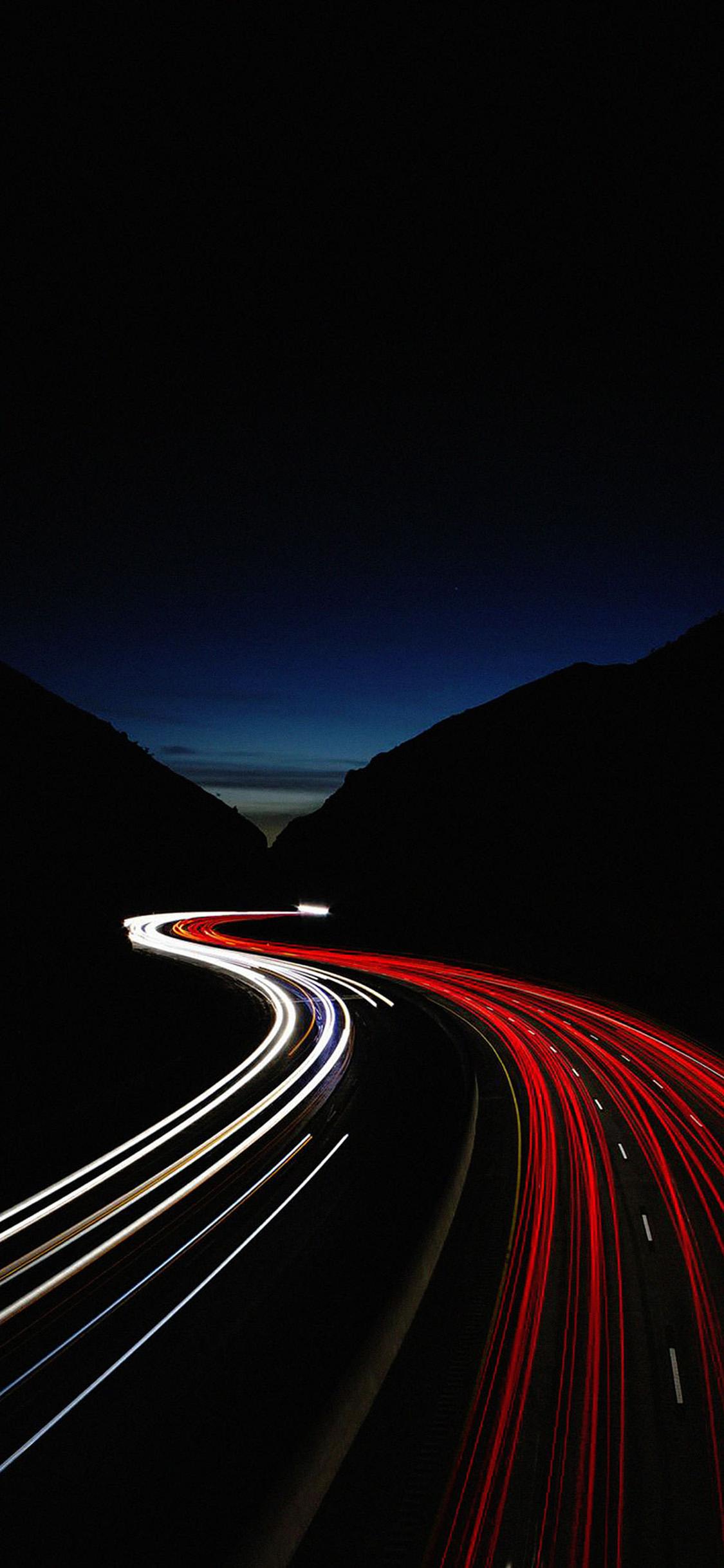 Download Street Car Lights Iphone X Wallpaper Hd Iphone X Wallpaper