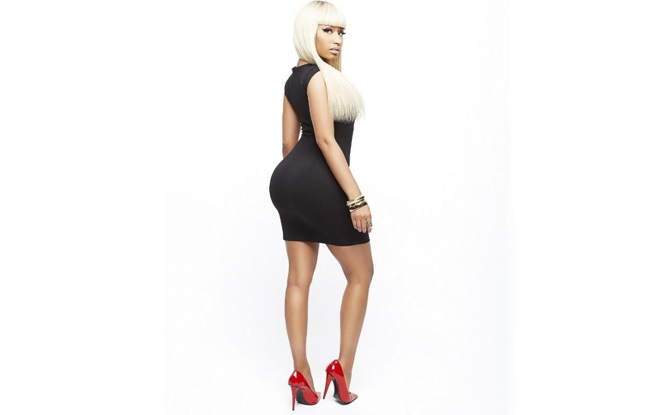 Nicki Minaj Black Dress Wallpaper Hd photos Nicki Minaj Wallpaper HD 1300x813