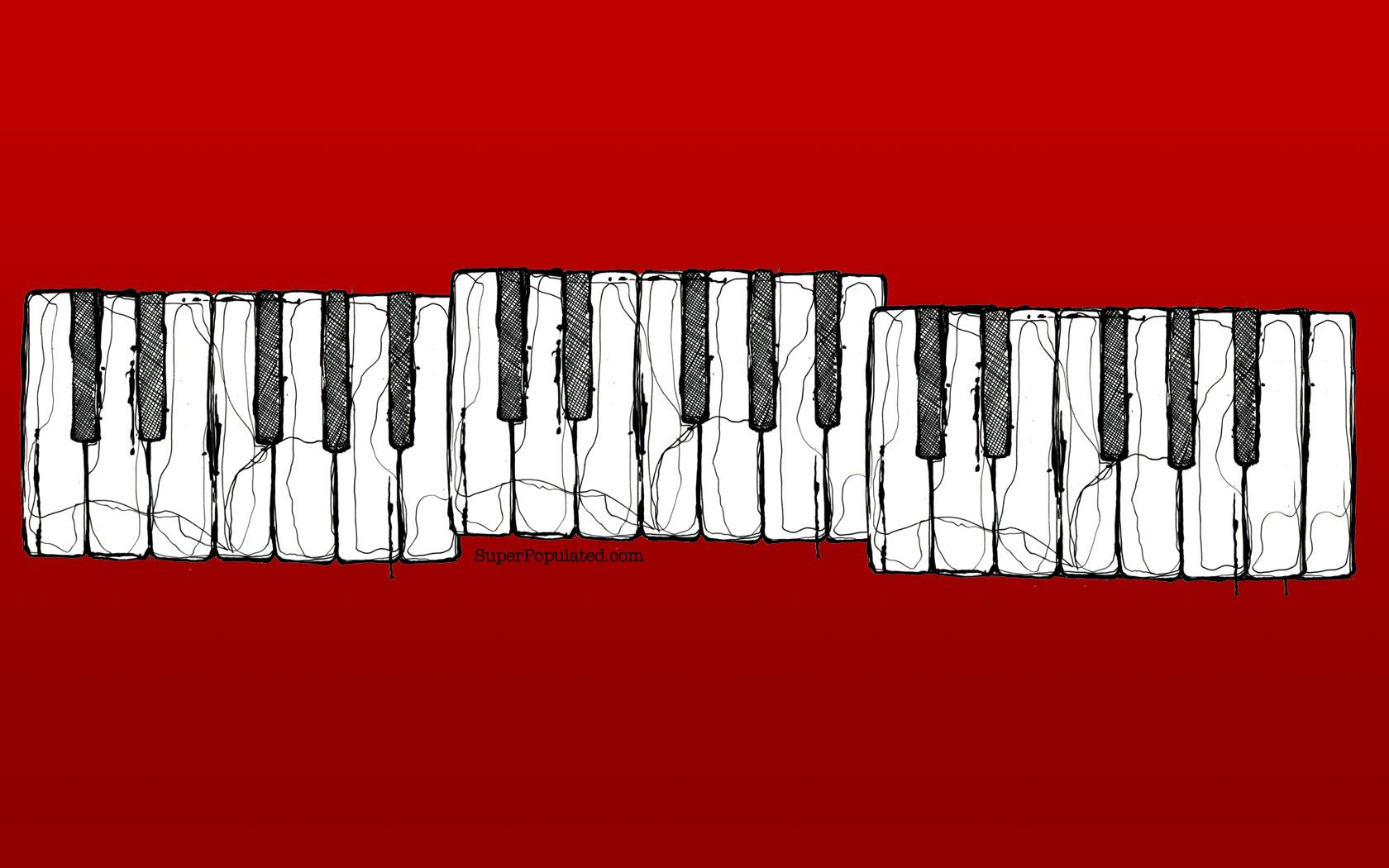76+] Piano Keys Wallpaper on WallpaperSafari