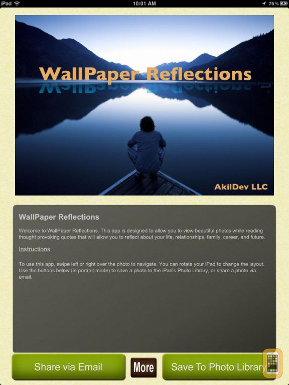 Wallpapers with Photos Quotes for Home Screen Lock Screen for iPad 576x768