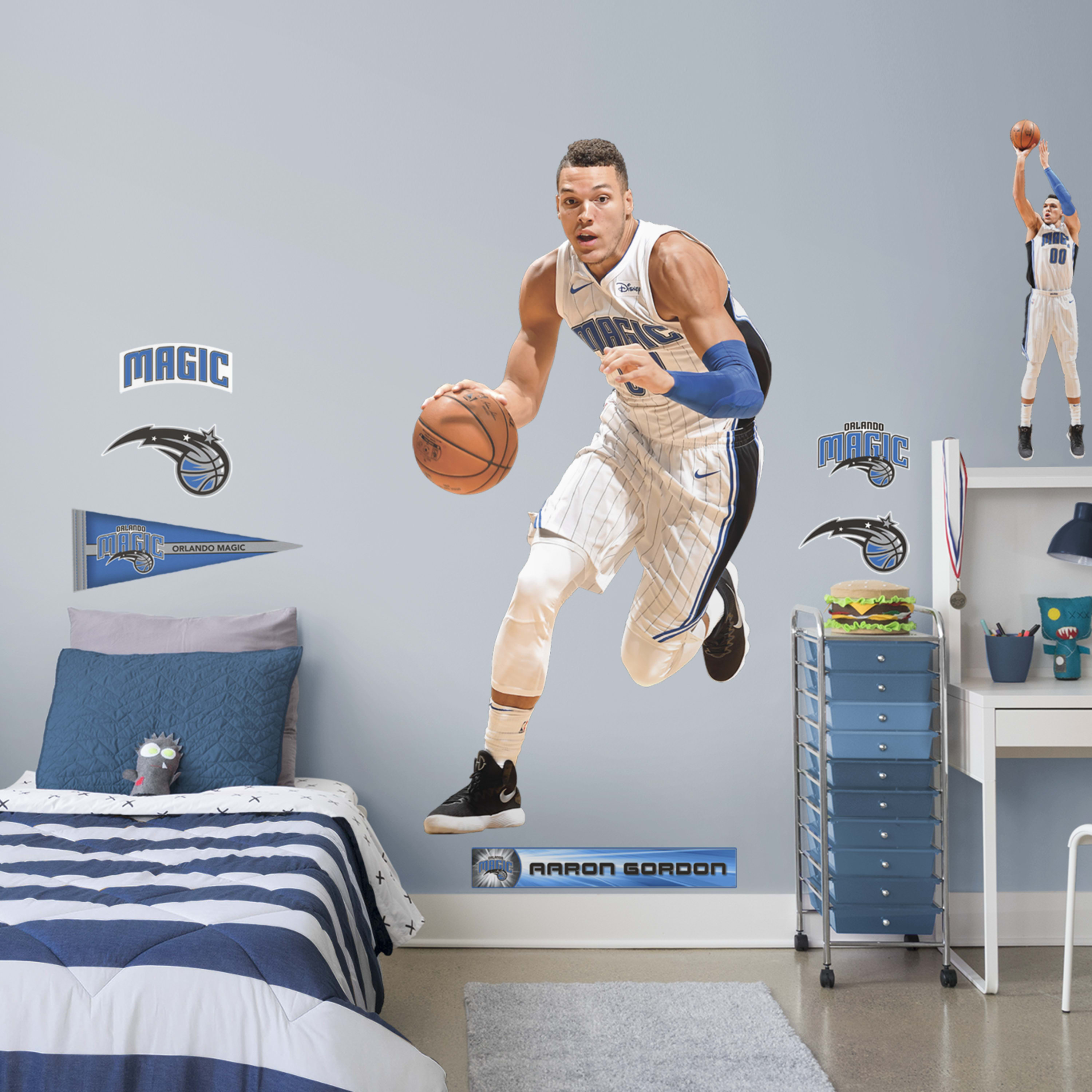 Aaron Gordon   Life Size Officially Licensed NBA Removable Wall Decal 3000x3000