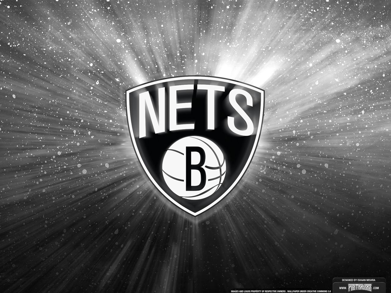 Nets Unveil Black And White Logo 1280x960