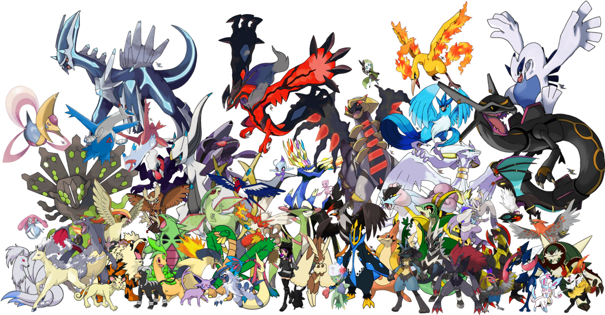 all legendary pokemon wallpaper hd