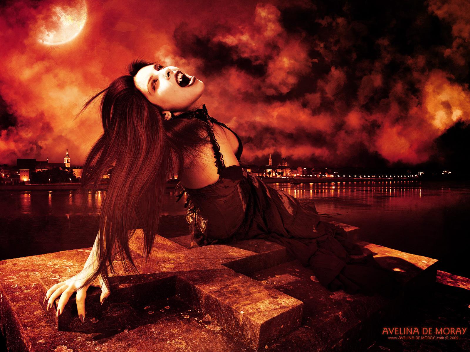 Vampires Images Vampire Art Wallpapers By Artist Avelina De Moray HD 1600x1200