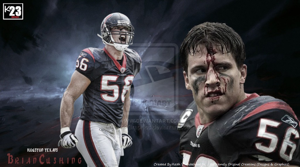 Brian Cushing Houston Texans ExTremely Original Designs by Keith V 1024x572