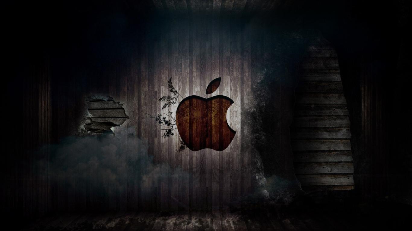 Full HD Wallpapers Apple HD Apple Logo Wallpapers Apple Full HD 1366x768