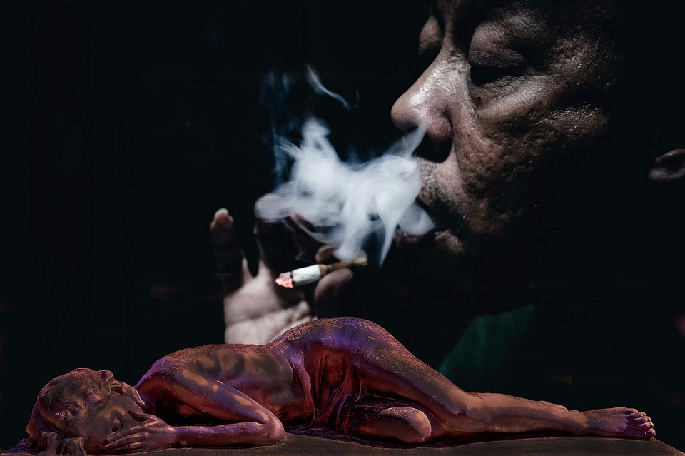 Cigarette Smoke Abuse Sad Battery   Narcissistic Mother Dying 960x639