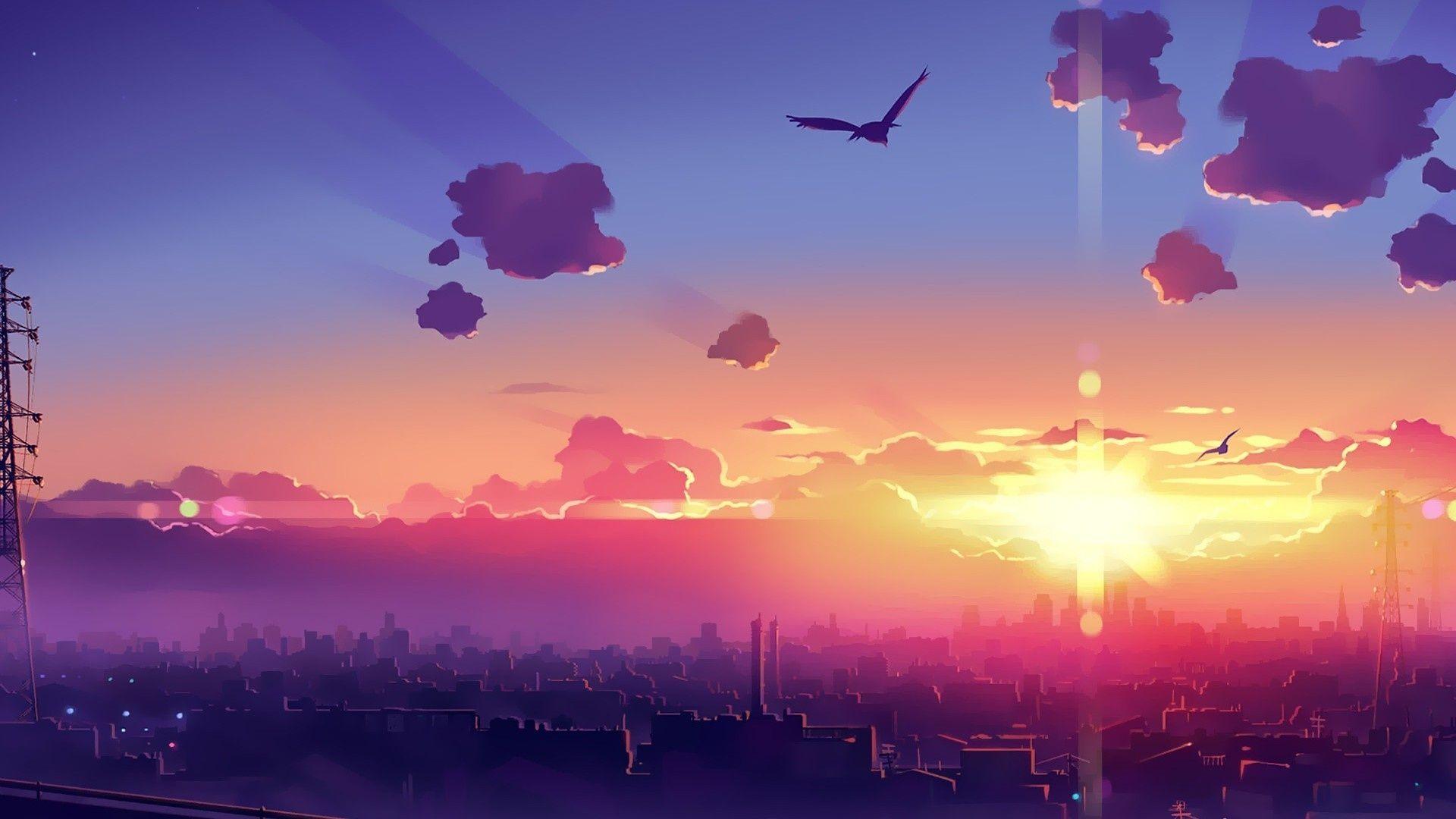 view anime   Tm vi Google Pemandangan anime Pemandangan 1920x1080
