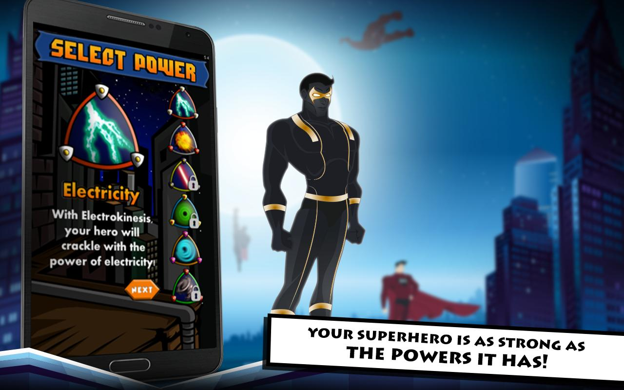 Superhero Maker for Android   APK Download 1280x800